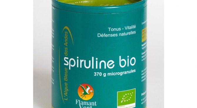 Spiruline Microgranules -370g